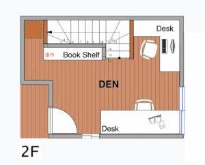 2階間取り図アフター