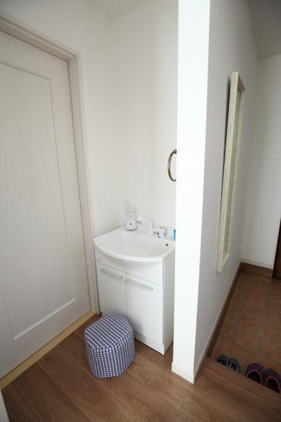 新築 子供用洗面所