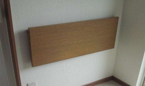 折り畳み式の棚板