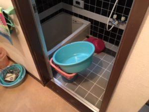 お風呂ビフォアー