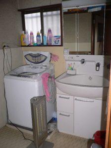 ビフォアー洗面所