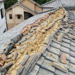 屋根瓦崩れ