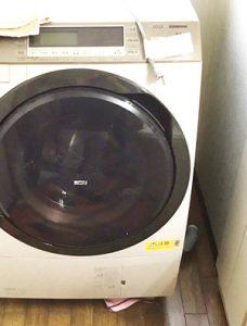 O様邸洗濯機