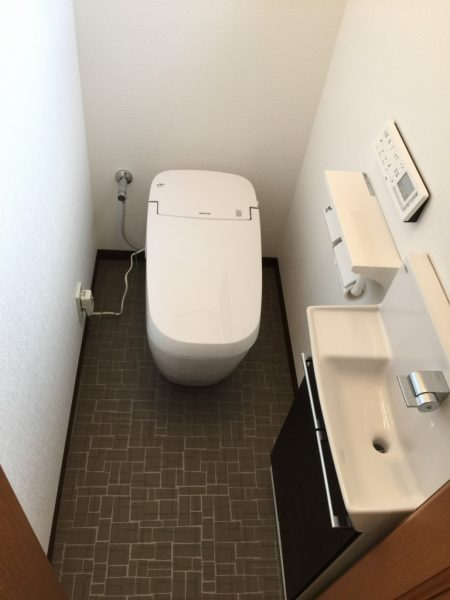 トイレ1階アフター
