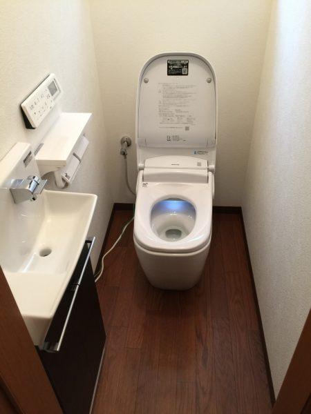 トイレ2階アフター