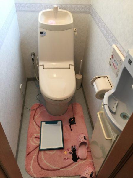 トイレ1階ビフォア