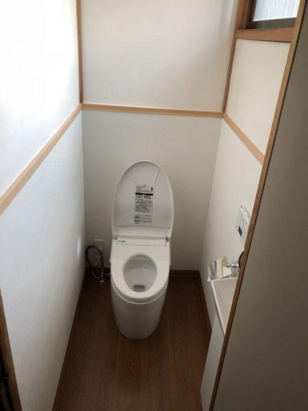 トイレ洋アフター