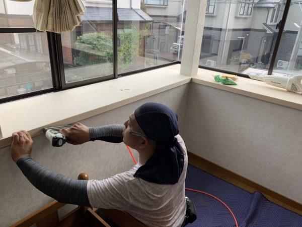 出窓補修大工さん設置