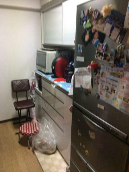 U邸マンション改修キッチン棚ビフォア