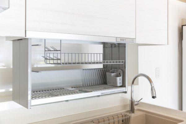 キッチン 電動昇降乾燥機