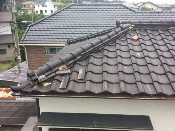 屋根ビフォア