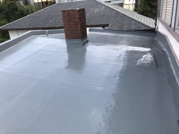 屋根上張りアフター