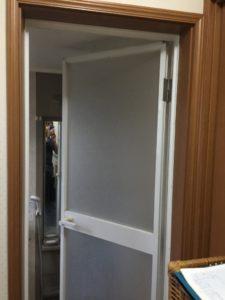 M様邸浴室 ドアアフター