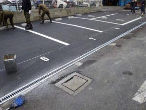 K様駐車場