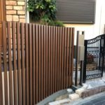 デザイン性はそのままに、安心安全の外塀に【交野、枚方、寝屋川、四條畷、外構、リフォーム、台風、壁】