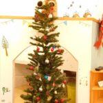 クリスマス仕様のさくら店舗