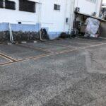 駐車場線引き工事さくらでできる?できます!②