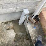 散水栓を立水栓へ